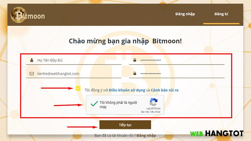 Hướng dẫn sử dụng Bitmoon